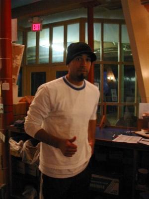 Ricky of The Artisan cafe in Holyoke, MA