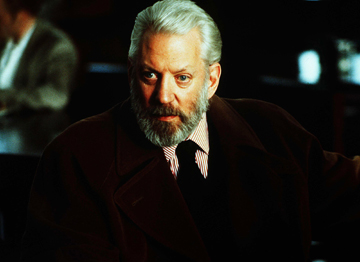 Donald Sutherland in Six Degrees of Separation