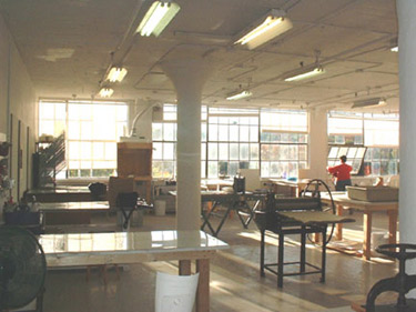 The Printmaking Studio at Zea Mays in Florence, MA
