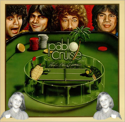 Me (as a Brownie) and Pablo Cruise.