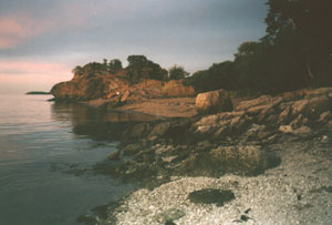 Squaw Rock at Squantum