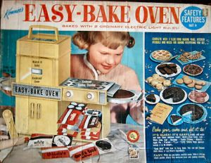 My Kenner Easy Bake Oven. Wow, is all I can say.