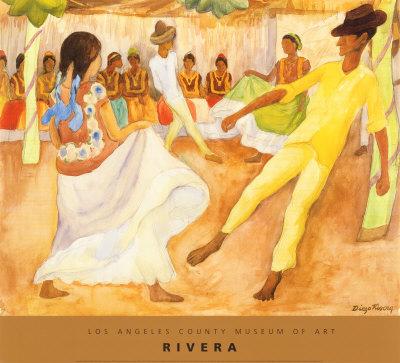"""Baile en Tehauntepec"", Diego Rivera"