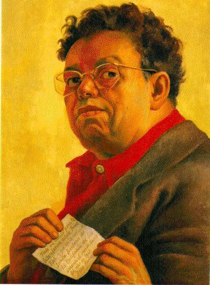 Autorretrato. (1941), Diego Rivera