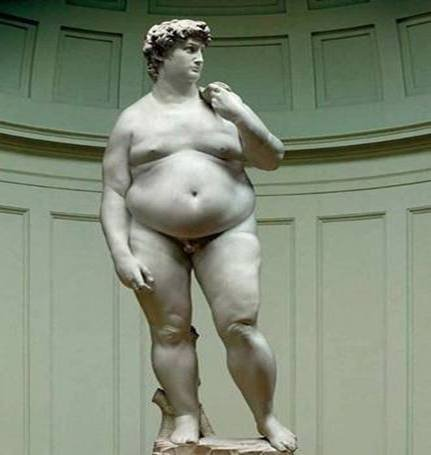 Michaelaneglo's (Now-Overweight) David