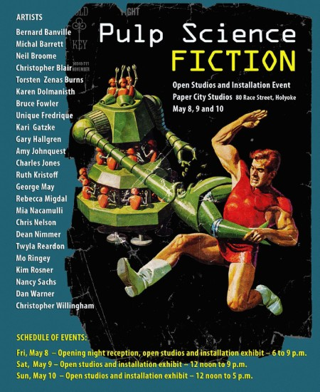Pulp Science Fiction Poster