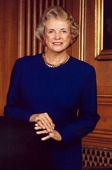 My pal, Sandra Day O'Connor