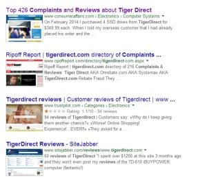 tigerdirect.com ripoff company